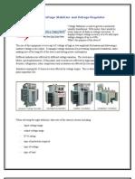 Servo Voltage Stabilizer and Voltage Regulator Controller