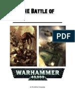 battle of warhammer 40k