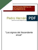 PedroHernandezLossignosdelascendenteanual