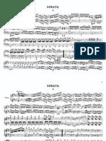 Mozart 4 hands D major Sonata