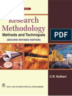 Research Methodology - Methods & Techniques