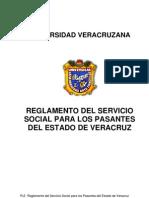 Reglamento del servicio social para pasantes del estado de Veracruz
