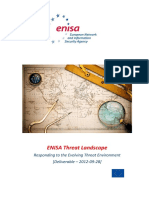 ENISA Threat Landscape