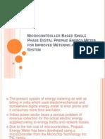Microcontroller Based Single Phase Digital Prepaid Energy Meter222