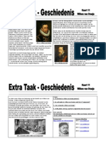 Extra Taak 11 GS Willem Van Oranje