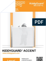 Lascal KiddyGuard Accent Manual 2012 (Spanish)