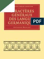Meillet Germaniques