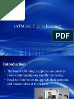 Comparison between ATM and Gigabit Ethernet