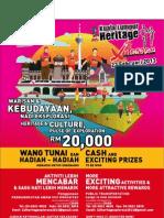 1Malaysia Kuala Lumpur Heritage Xplorace 2013 Form Uploaded by RUNWITME