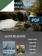 pengolahan air limbah anaerobik