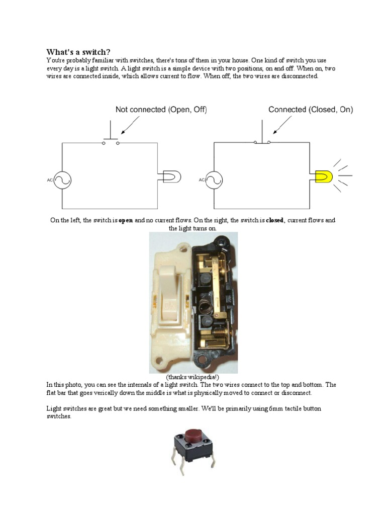 Switch | Switch | Arduino
