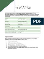Economy of Africa