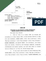 U.S. v Barot Indictment