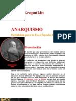 El Anarquismo Para La Enciclopedia Britanica