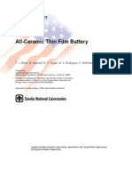 Thin Film Batteries