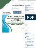 NBR17240 - Apresentção