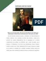 .Antonio José de Sucre