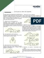 fisioterapia - lumbalgia ejercicios