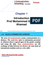 Intro to Data Communication