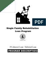 SFRLoan Program Desc 4-10