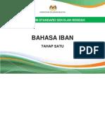 Dokumen Standard Bahasa Iban Tahap 1 (Tahun 1, 2 dan 3)