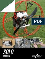 manual paramotor