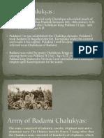 Chalukyas of Badami