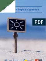 Energías limpias y patentes