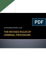 Revised Rules on Crimpro