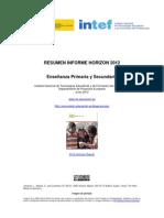 Informe Horizon INTEF Primaria y Secundaria Junio 2012