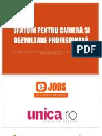 Unica Ejobs Sfaturi Pentru Cariera Si Dezvoltare Profesionala