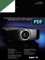 JVC RS-40 Projector Spec 5917