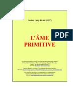 l'ame primitive