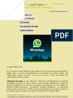 Los mensajes en WhatsApp de este verano