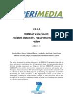 D4.9.1 REENACT experiment