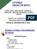 Reabilitarea Pulmonara in Bpoc