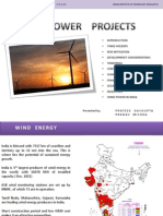 REGULATORY  ISSUES for setting up a Wind Power Plant