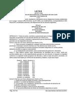 Provincia de San Juan - Codigo Tributario - Año Fiscal 2013 - Ley 8342