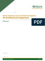Netezza Performance Server® Data Warehouse Appliance: An Architectural Comparison