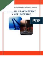 análisis gravimetrico y volumetrico