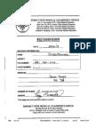 Daniel Dukes Medical Examiners Report