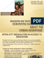 Education and Youth Employment