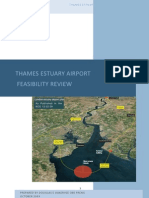 Thames Estuary airport feasibility review