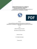 Doctorado Evaluación de un Diseño Instruccional de Gagne