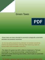 green tax