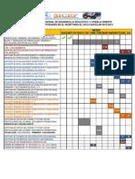CALENDARIO DEL SICEP 2012-2013