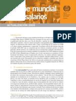 informe mundial sobre salarios (OIT)