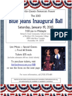 Blue Jeans Inaugural Ball (2013 Inauguration)