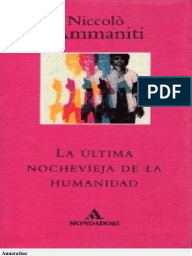La Última Nochevieja De La Humanidad descarga pdf epub mobi fb2