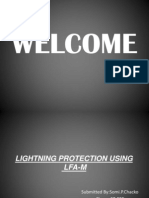 LIGHTNING PROTECTION USING LFA-M